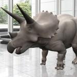 Triceratops realite augmenee