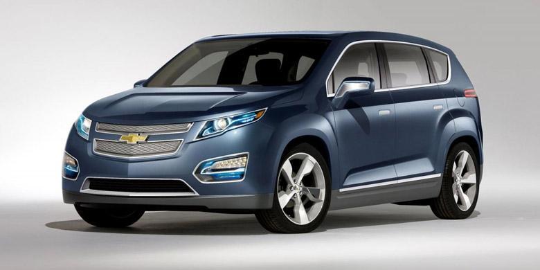 GM Siap dengan Crossover Elektrik Crossvolt