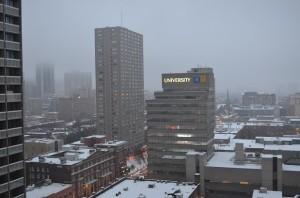Université au centre ville de Toronto