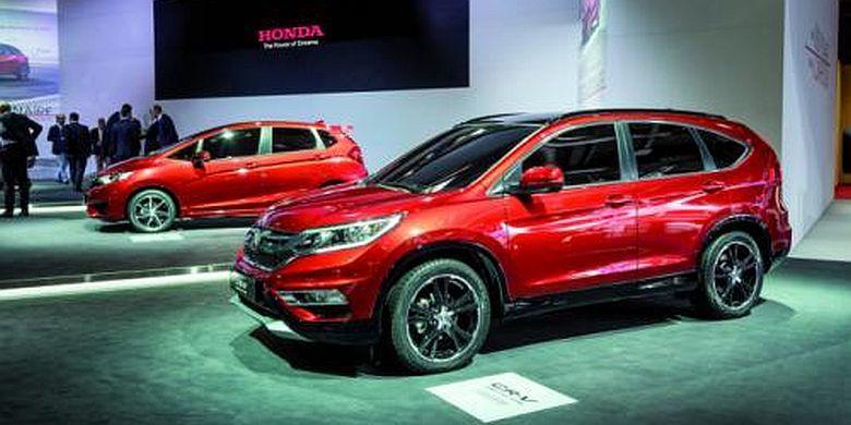 New Honda CR-V Mulai Dijual Pertengahan 2015